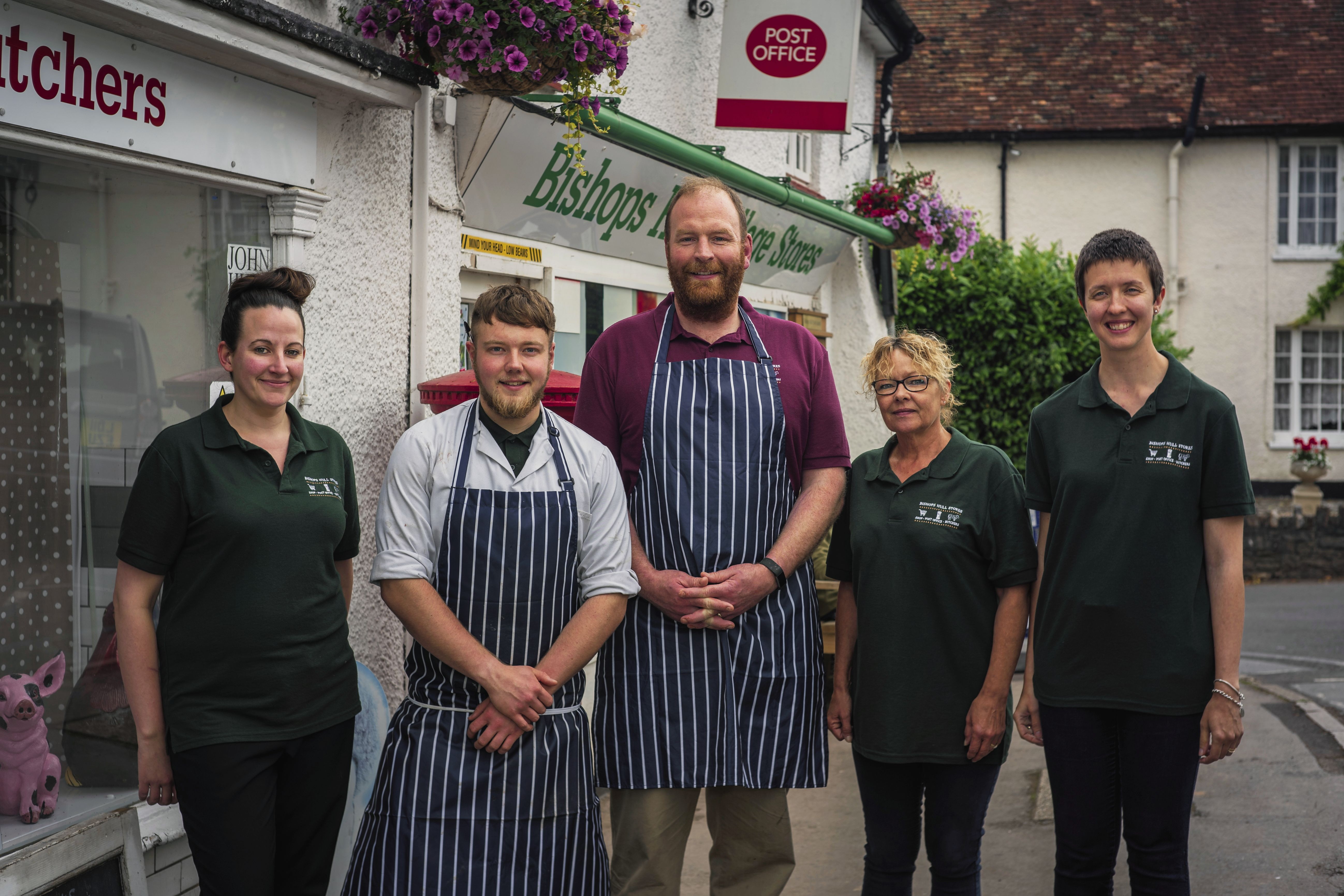 Tom the Butcher and hist team